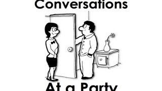 At a Party | Short Easy Conversations | Simple English Practice | ESL
