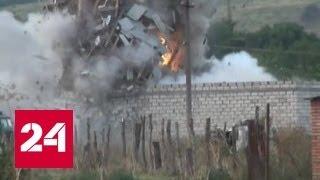 В Ингушетии взорвали дом с террористами