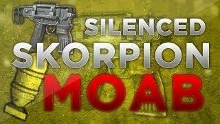 Silenced Skorpion Moab - CoD: Mw3