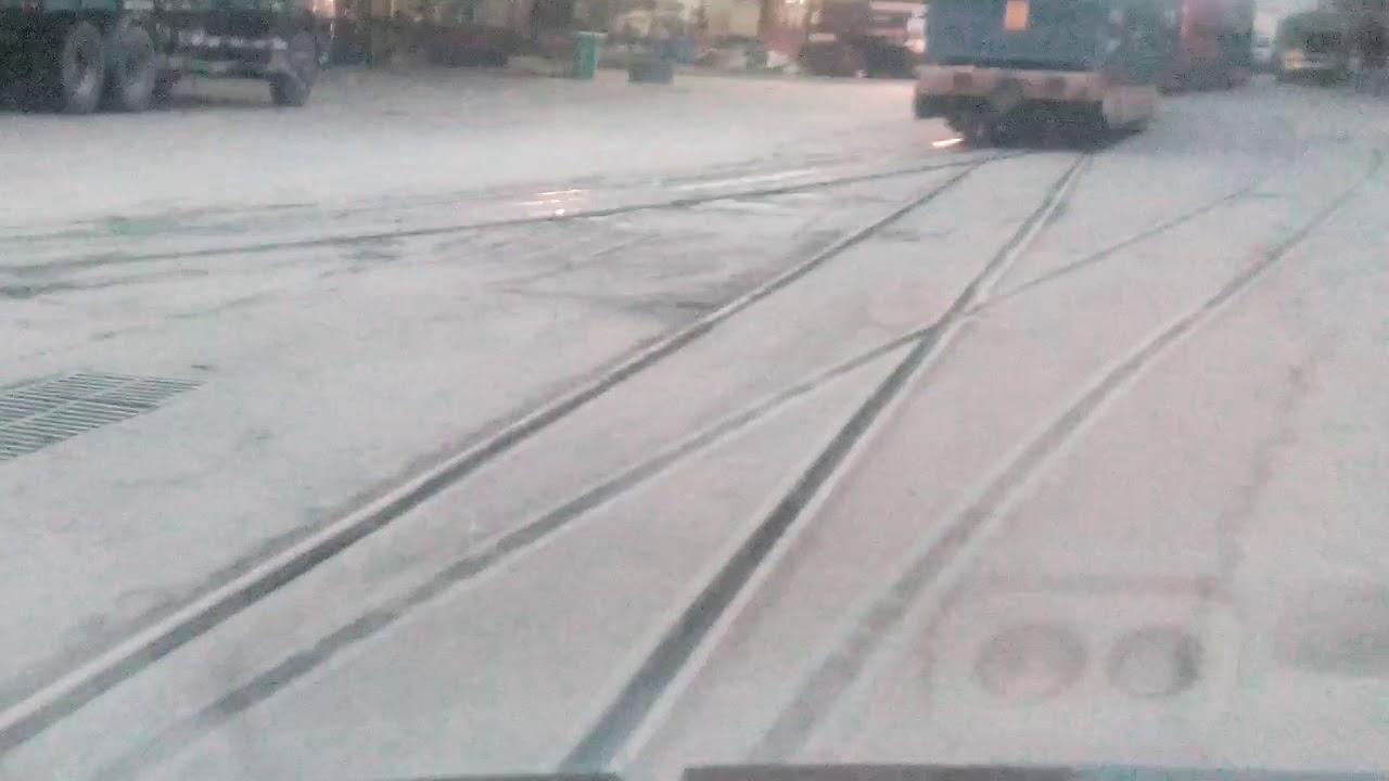 BAD RAIL TRACKS INSIDE NAIJA PORT