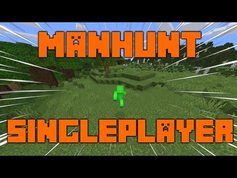 Minecraft Manhunt, But It's Singleplayer