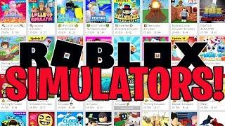 50 ROBLOX SIMULATOR GAMES IN 500 SECONDS