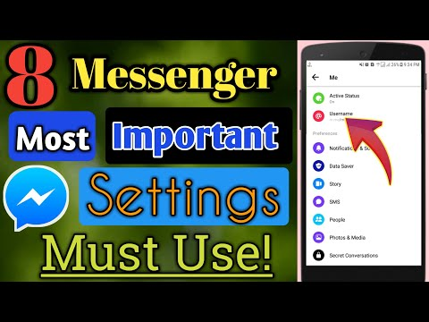 8 Most Important Messenger Settings You Should Use Now! | Facebook Messenger Tricks 2019