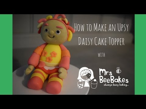 Upsy Daisy cake topper from In The Night Garden