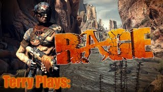 Rage: Gameplay Commentary Part 1