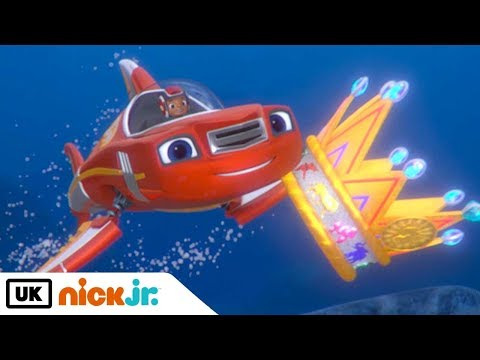Blaze and the Monster Machines | The Great Animal Crown | Nick Jr. UK