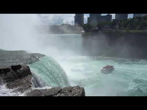 A Walk Around The American Side Of Niagara Falls, New York