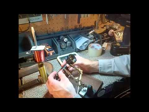 Philco 91A 221 Radio Repair Video #19 Manually Wind RF Coil