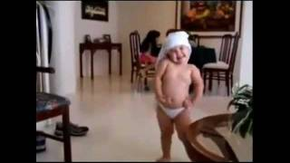 CUTE BABY DANCING TO WAKA WAKA- 1st of TOP 10 FUNNY VIDEOS OF ALL TIME.flv