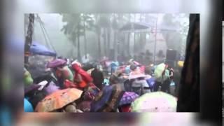 Ураган во время Ильменского фестиваля...