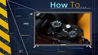 Как делать фотографии с помощью приложения Remote Camera Control от Sony(http://www.sony.ru/support/ru/content/cnt-dwnl/prd-dime/sony-remote-camera-control-ver33/ilce-7r Программное обеспечение Remote Camera Control от ..., 2015-11-05T10:14:15.000Z)
