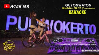 Ninggal Cerito ( Purwokerto ) Karaoke Koplo SKA Jandut