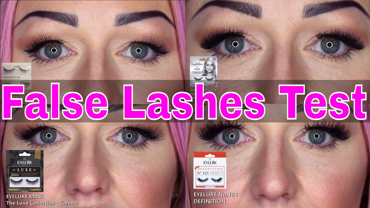 d7938d1235b False Eyelash Test - Natural Lashes - Winged Lashes - Full Lashes - Super  Insane Lashes