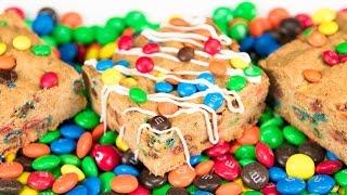 M&m Blonde Brownies Bars (blondie Bars) From Cookies Cupcakes And Cardio