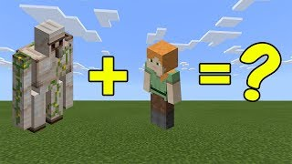 I Combined an IRON GOLEM and ALEX in Minecraft - Here's WHAT Happened...