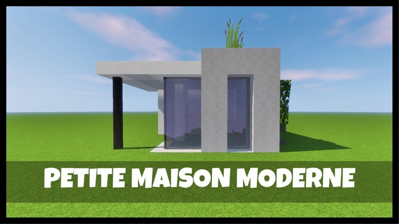 tuto comment construire une petite maison dans minecraft youtube