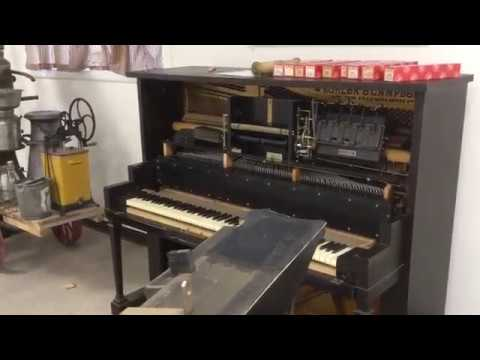 How to repair bellows cloth in a player piano