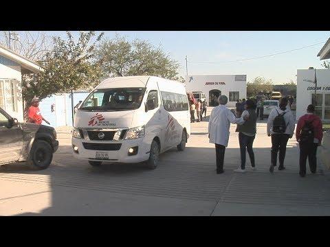 300 forasteros llegan a Reynosa, Tamaulipas diariamente entre deportados y migrantes...