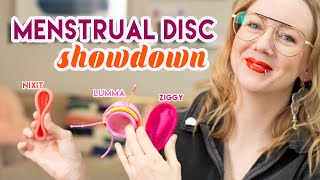 Menstrual Disc Showdown | Featuring Nixit, Lumma, and Ziggy
