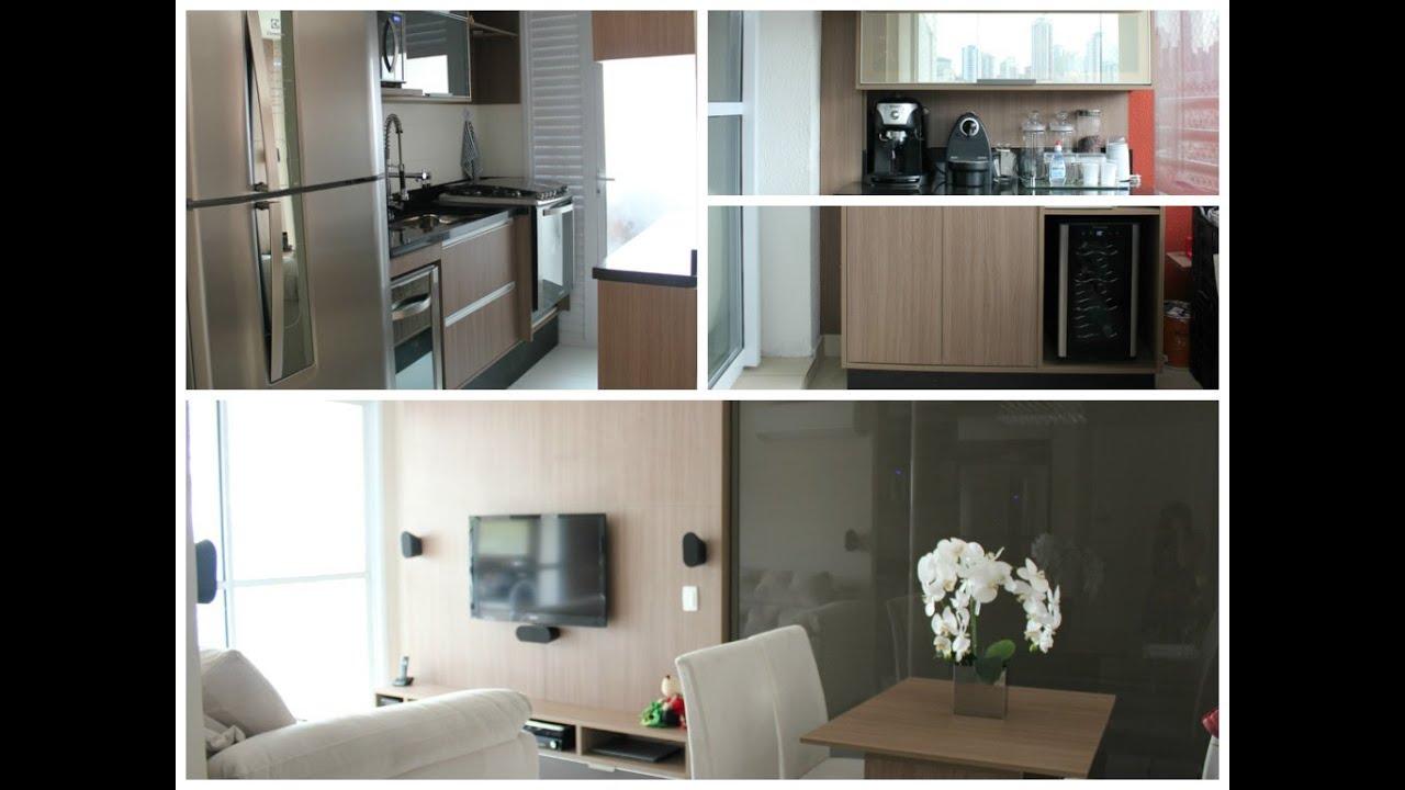 Planejados Sala de jantar sala estar cozinha lavandeira de apto  #604D3D 1024 768