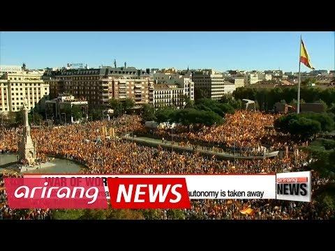 Spain moves to suspend Catalonia's autonomy