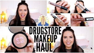 DRUGSTORE HAUL | YouTubers Made Me Buy These