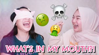 WHAT'S IN MY MOUTH ft. SISTER [BAHASA]