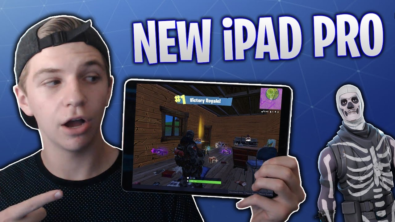 i bought an ipad pro just to play fortnite mobile - fortnite ipad pro 129