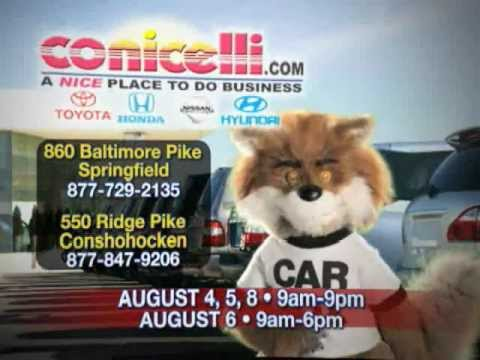 Conicelli Carfax One Owner Sales Event Aug 4 8 2011 Youtube