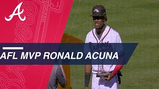 Ronald Acuna's 2017 AFL MVP campaign