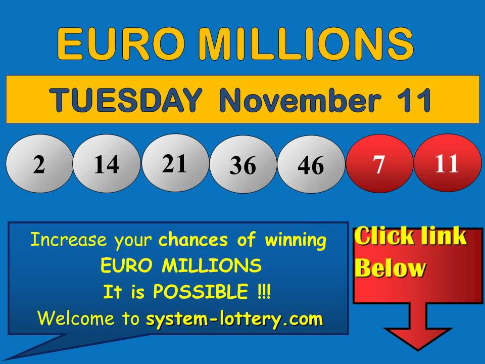 lotto and euro million results