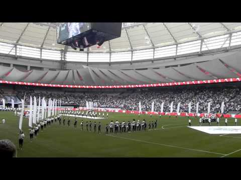 O Canada - By Vancouver Whitecaps Fans - BC Place Opening
