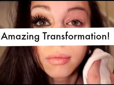 Remove Makeup to reveal amazing transformation - YouTube