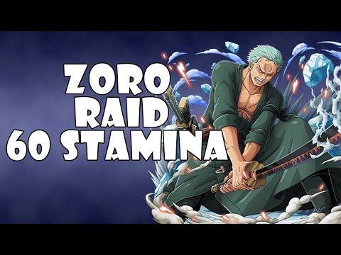 One Piece Treasure Cruise JP   Zoro Raid 60 Stamina
