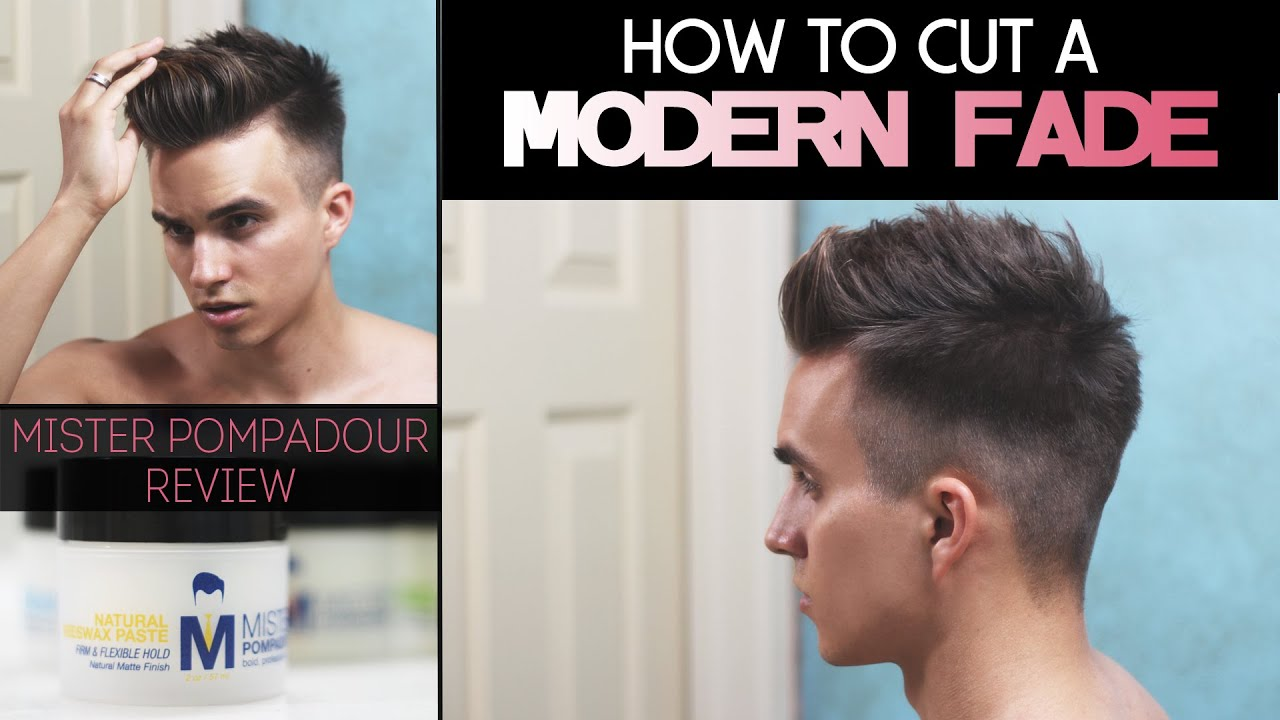 How To Cut A Modern Fade Mister Pompadour Review Youtube