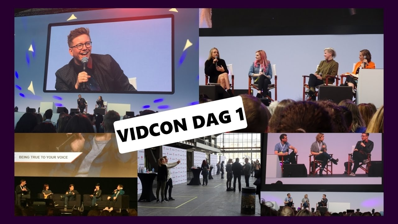 VLOG VidCon Europe 2017 Dag 1: Tyler Oakley Q&A | The ...