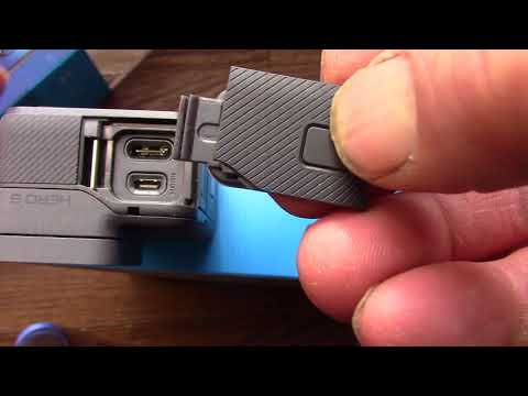how to change gopro side door