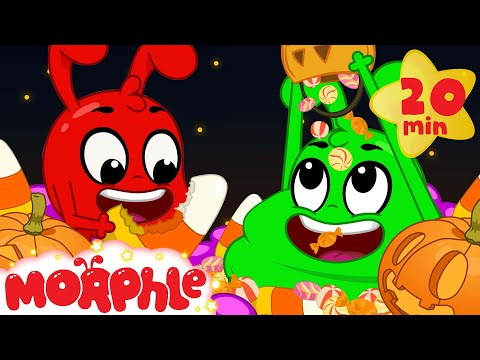 The Halloween Candy Magic Pet - Mila and Morphle | Cartoons for Kids | Halloween Special