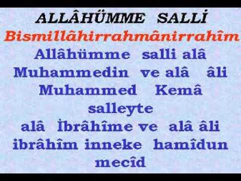 Allahümme Barik Duası Okunuşu ve Anlamı