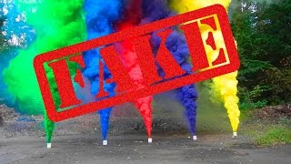 Как сделать ЦВЕТНУЮ ДЫМОВУЮ ШАШКУ(неудача / fail) how to make colored smoke bomb