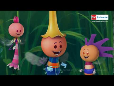 BIG BEES TITLE SONG HQ NURSERY RHYMES ANIMATION BIG BEES JUNIOR