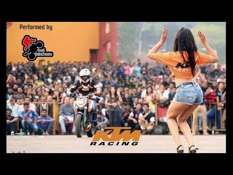 Ktm Duke 200 | Ktm Duke 250 | Stunt Show in Mumbai 2018 | Autodelic