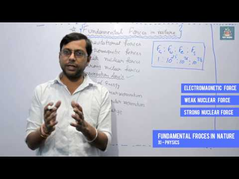 Fundamental Forces in Nature & Conservation Laws - #2 Class-XI Physics | TPT- RAMS | HINDI