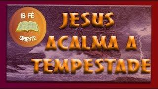 Jesus acalma a tempestade - Pr Mauricio Steker