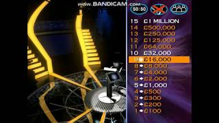 Who Wants to be a Millionaire UK 2nd Edition PC Gameplay Episode 6 - Part 1