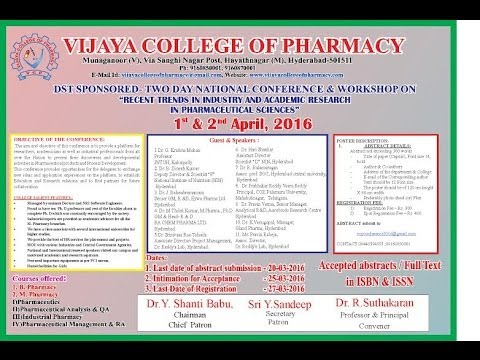 TWO DAY NATIONAL CONFERENCE & WORK SHOP