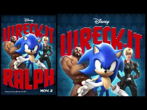 Wreck-It Ralph Posters (2012) - Street Fighter's M. Bison, Sonic The Hedgehog And Pac-Man's Clyde