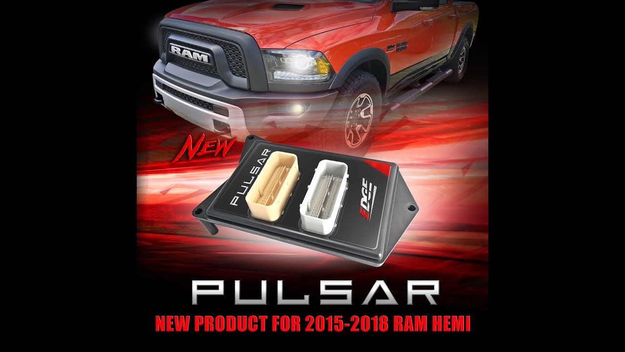 Edge's Pulsar Tuning Module for 2015-2019 Ram 1500/2500 5 7L/6 4L