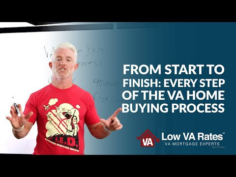 From Start to Finish: Every step of the VA home buying process