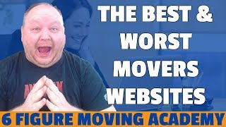 The Best And Worst Moving Company Websites Critque